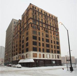 Hôtel abandonné du centre-ville